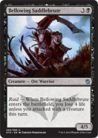 Bellowing-Saddlebrute-Khans-of-Tarkir-Spoiler