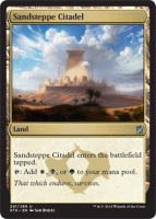 Sandsteppe-Citadel-Khans-of-Tarkir-Spoiler