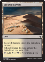 Scoured-Barrens-Khans-of-Tarkir-Spoiler