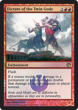 Dictate-of-the-Twin-Gods-Promo-Journey-into-Nyx-Visual-SpoilerJourney Into Nyx Planeswalker