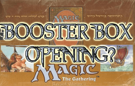 Booster box FBB Foreing Revised Openig Magic