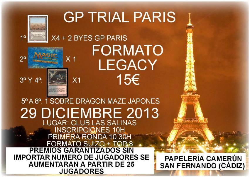 Torneo Legacy Cadiz