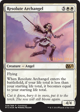 Resolute-Archangel-M15-Prerelease-Promo