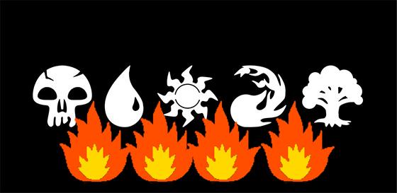 quemadura de mana