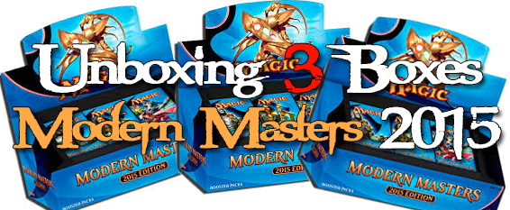 unboxing 3 boxes modern master 2015
